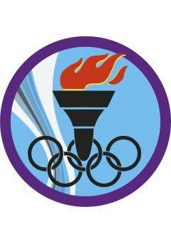 Trofeo circular pie cristal deportivo Thumb