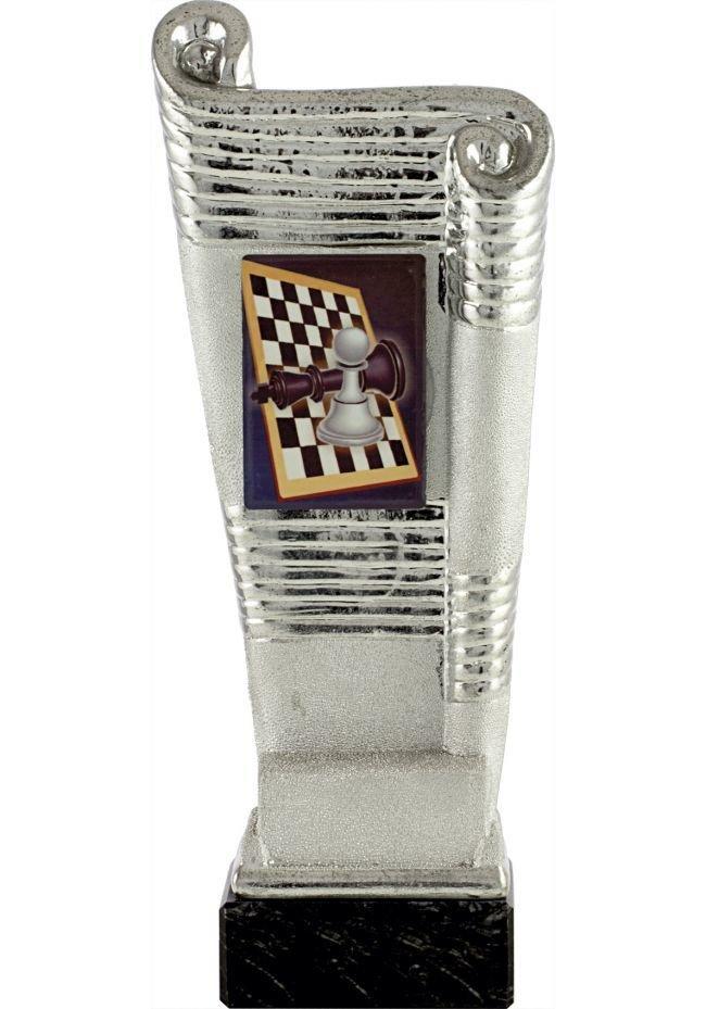 Trofeo pergamino deportivo