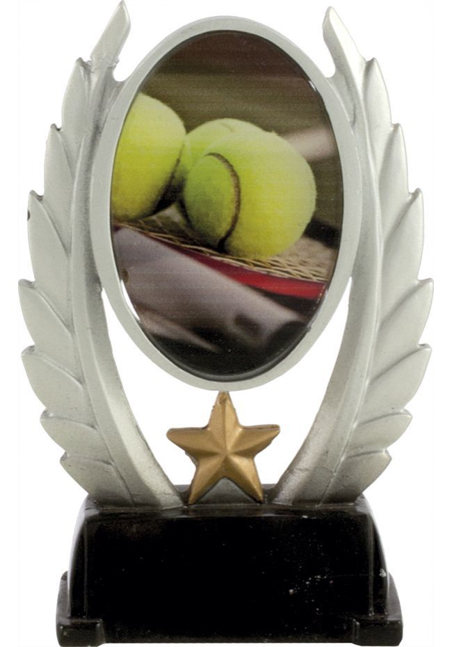 Trofeo alegórico deportivo