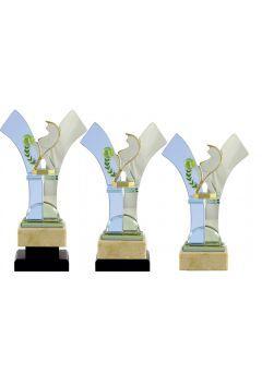 Trofeo V cristal deportivo Thumb