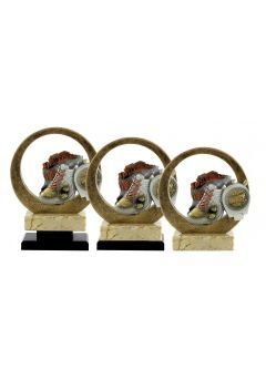 Trofeo resina circular deportivo Thumb