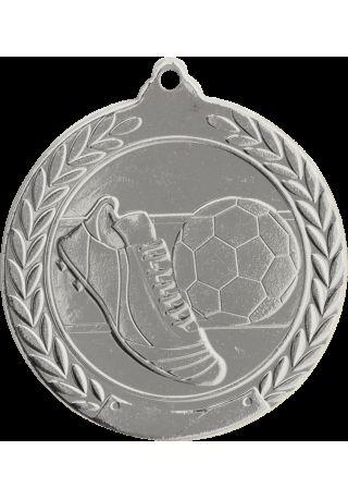 Football medal embossed 50 mm