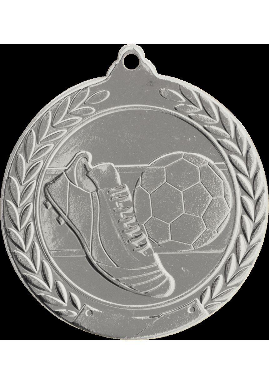 Médaille de football en relief 50 mm