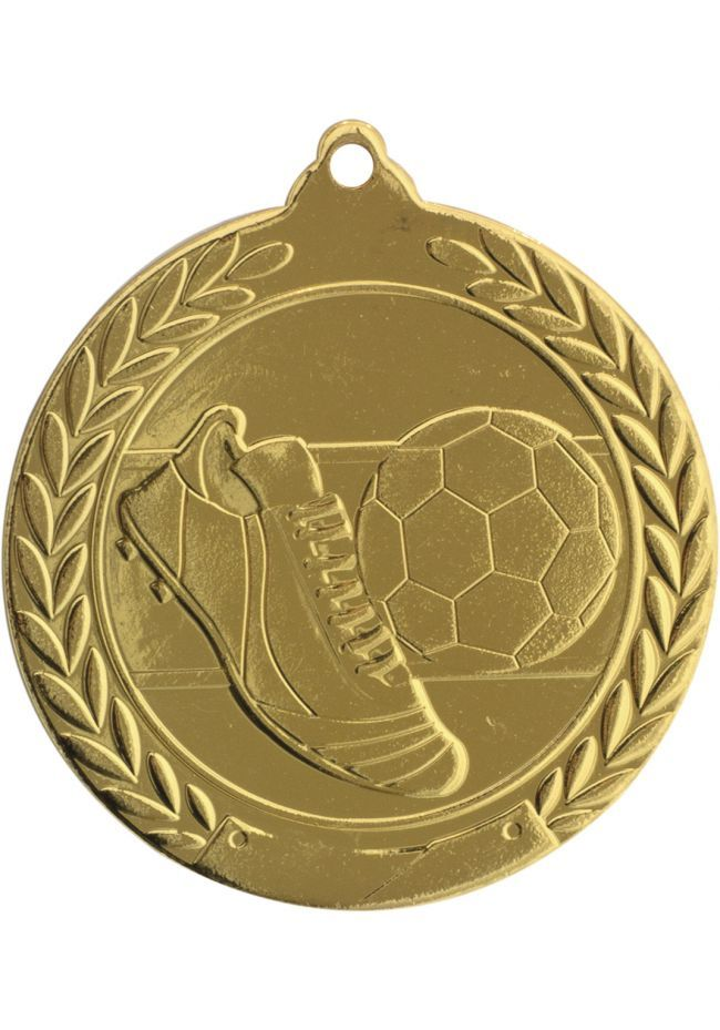 Medalla de fútbol en relieve 50mm