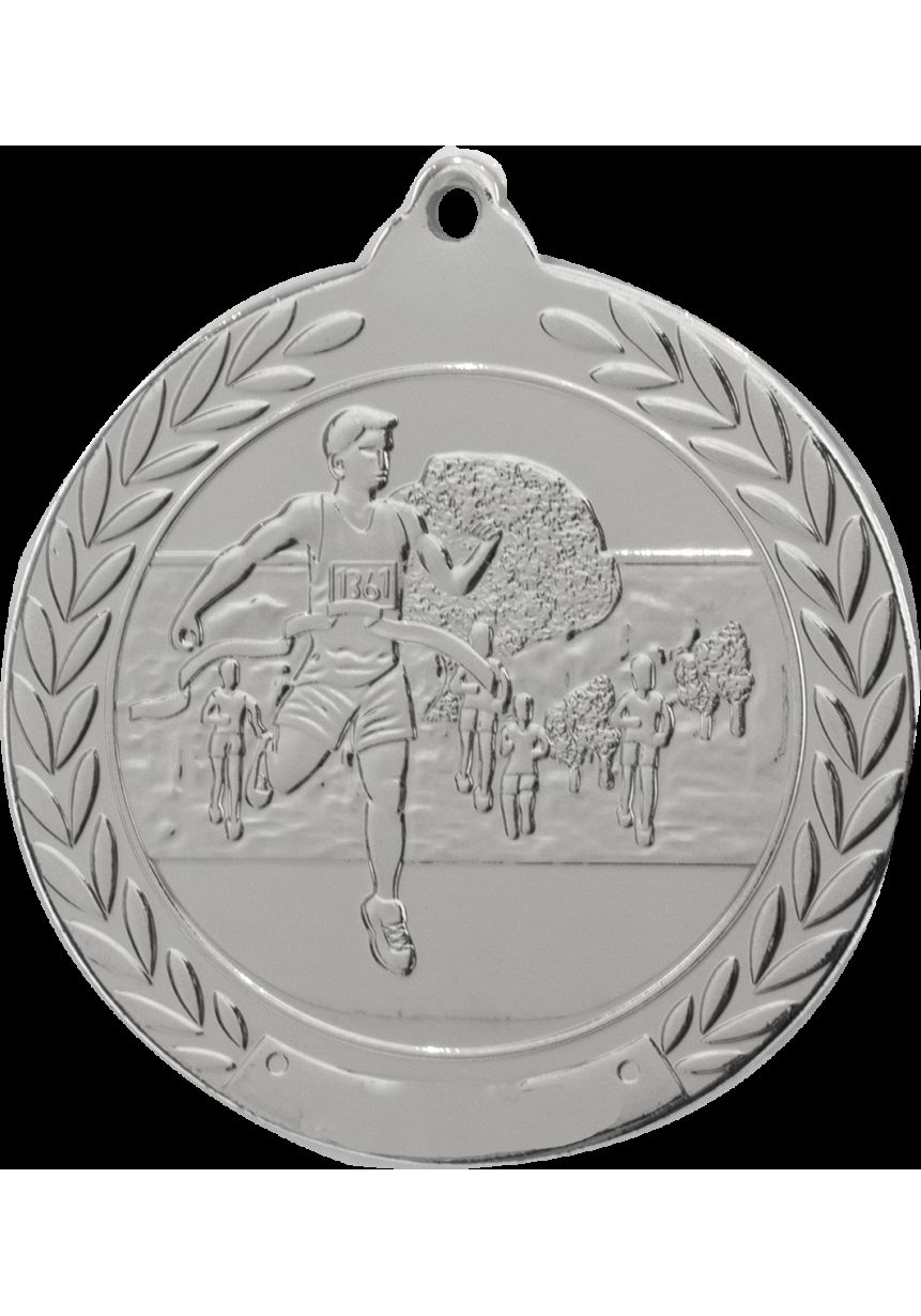 Medalla de cross en relieve 50mm