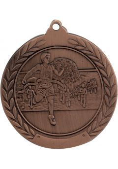 Medalla de cross en relieve 50mm Thumb