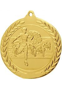 Cross medal embossed 50 mm