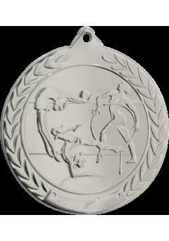 Medalla de gimnasia en relieve 50mm