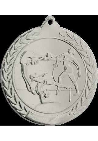 Medalla de gimnasia en relieve 50mm