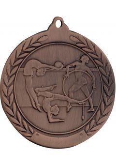 Medalla de gimnasia en relieve 50mm Thumb