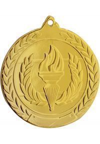 Olympic medal embossed 50 mm
