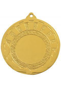 Medalla portadisco labrada estilo Azteca 50mm-1