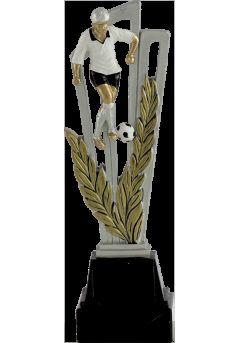 Trofeo soporte alegórico laurel deportivo