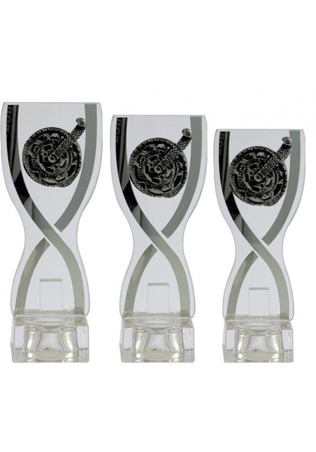 Trofeo copa cristal deportivo