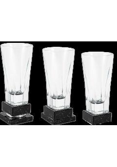 Trofeo copa jarrón cristal labrado