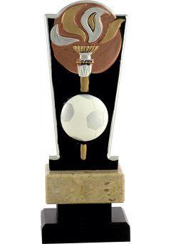 Trofeo antorcha bicolor deportivo Thumb