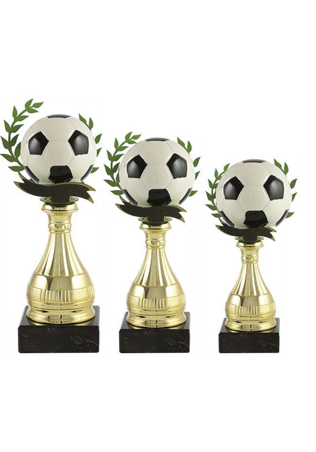 Trofeo pelota fútbol alegórico