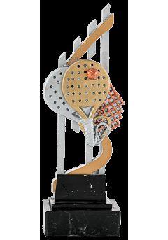 trofeo padel doble raqueta 17