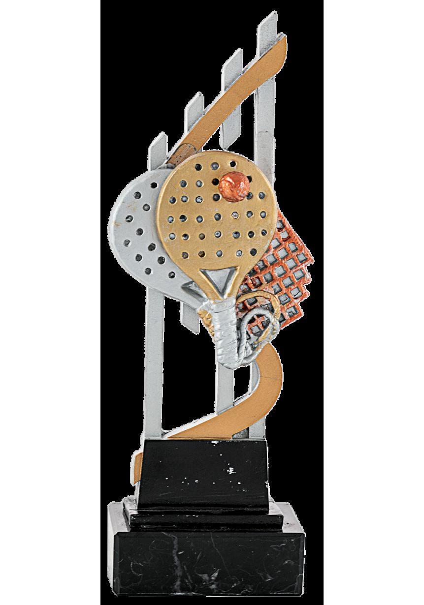 Trofeo pádel doble raqueta