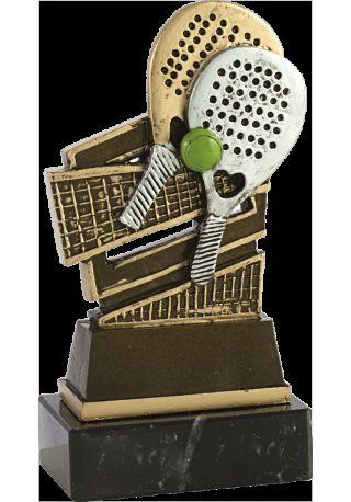 Trofeo pádel resina
