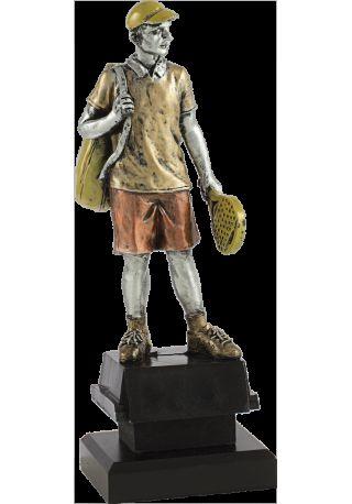 Trofeo jugador pádel hombre