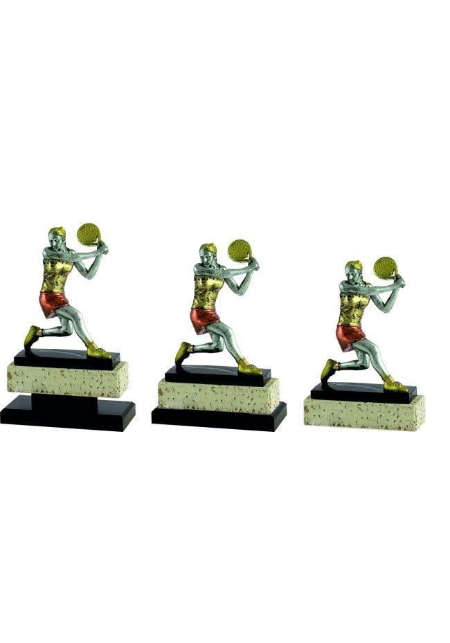 Trofeo jugador pádel mujer