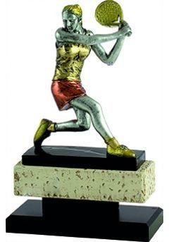 Trofeo jugador pádel mujer Thumb