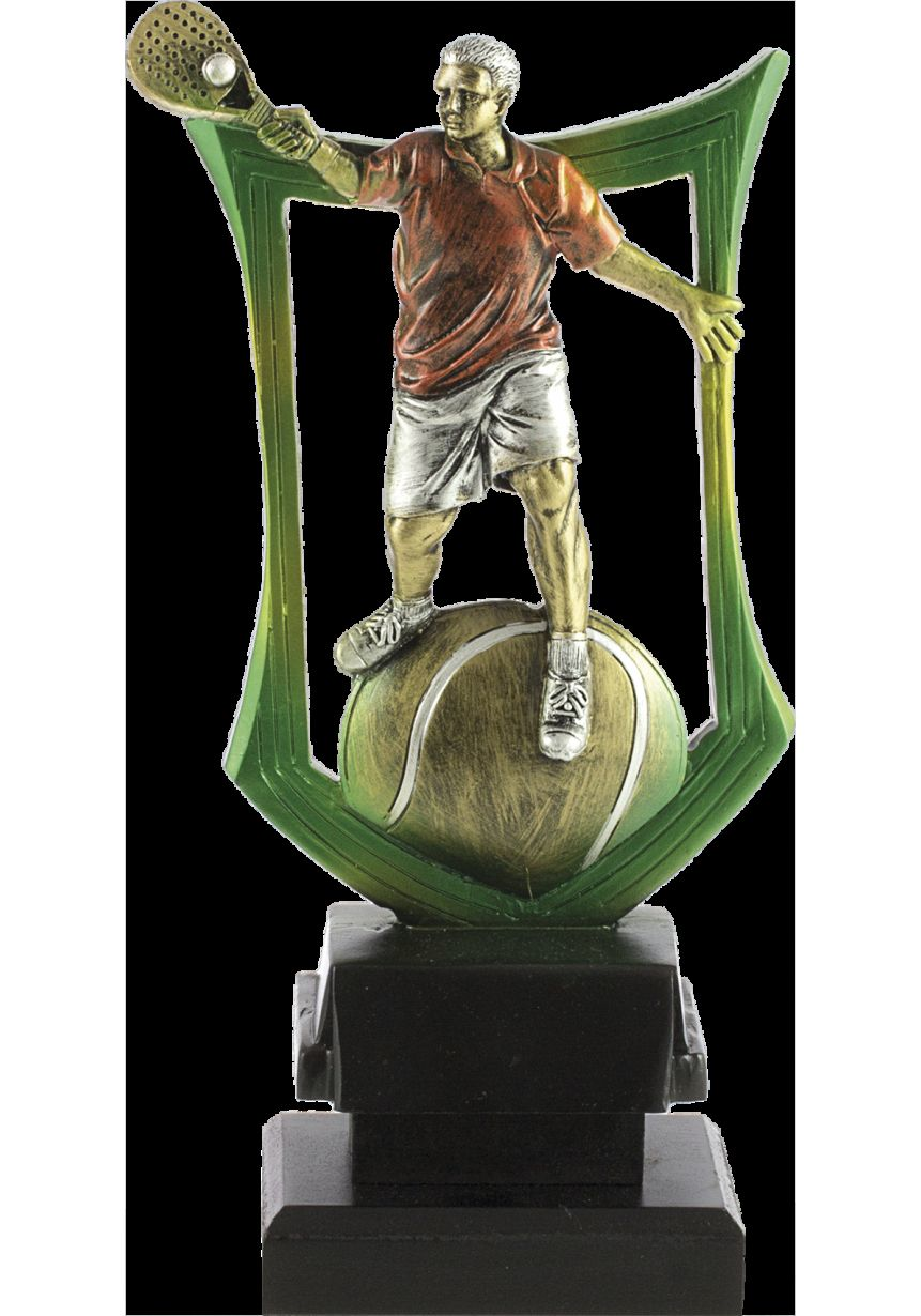 Trofeo escudo pádel