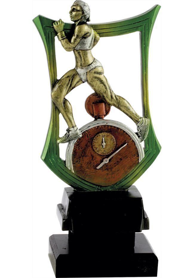 Trofeo escudo cross mujer