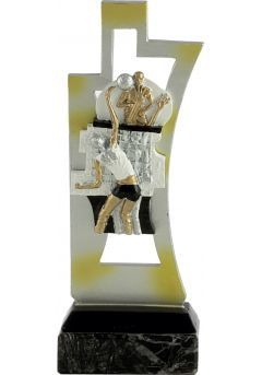 Trofeo de voleibol en resina Thumb