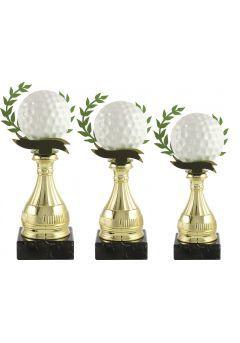 Trofeo pelota golf alegórico Thumb