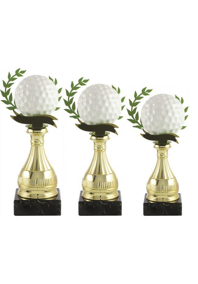 Trofeo pelota golf alegórico