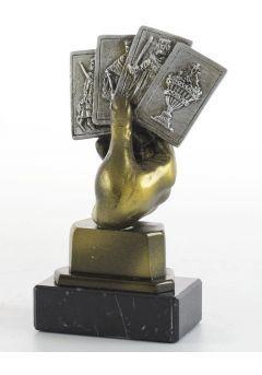 Trofeo Mano baraja-1
