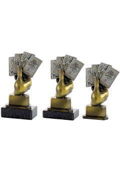 Trofeo Mano baraja Thumb