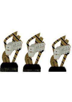 Trofeo abstracto dominó Thumb