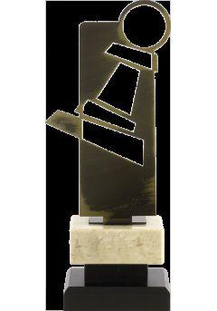 Trofeo pieza ajedrez