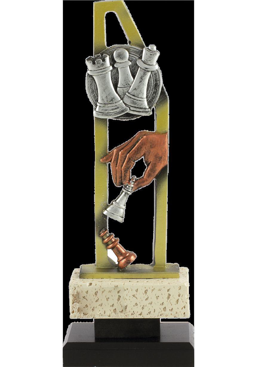 Trofeo pentágono ajedrez