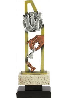 Trofeo pentágono ajedrez Thumb