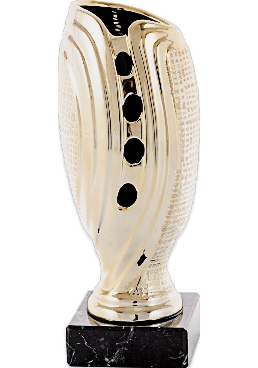 Trofeo jarrón piedra tipo red metal -oro-plata
