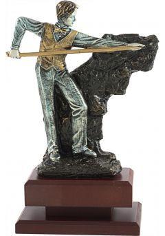 Trofeo billar resina Thumb