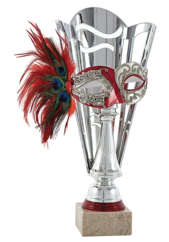 Trofeo Cono Aplique Máscara