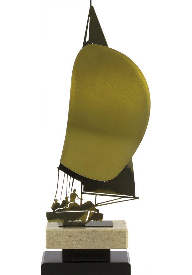 Trofeo metal velero