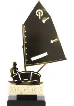 Trofeo barco de metal Thumb