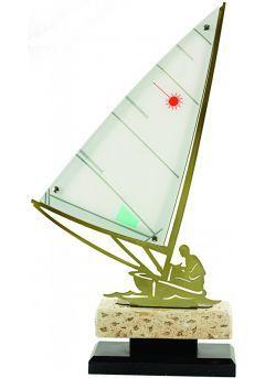 Trofeo metal barco Thumb